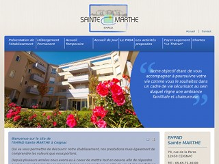www.ehpad-saintemarthe.fr